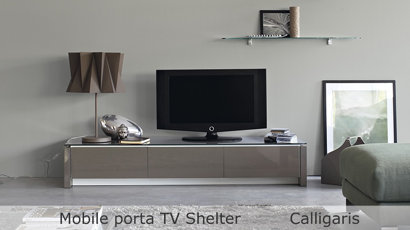 Porta tv element calligaris idee per interni e mobili for Arredamenti calligaris